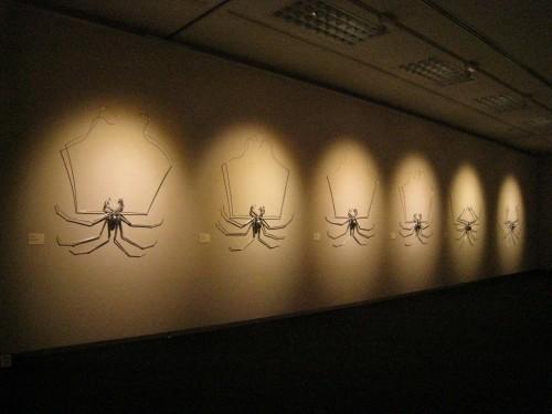 nsect01~07 展示風景 2012 next信州新世代のアーティスト展 長野県伊那文化会館