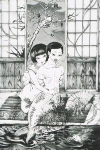 林アサコ展DM1